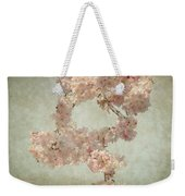 Cherry Blossom Bridal Bouquet Weekender Tote Bag