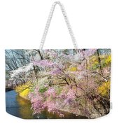 Cherry Blossom Land Weekender Tote Bag