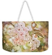 Cherry Blossom Weekender Tote Bag