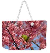 Cherry Blossom Time Weekender Tote Bag