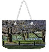 Cherry Blossoms Adorn Arlington National Cemetery Weekender Tote Bag
