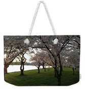 Cherry Blossoms Along The Potomac Weekender Tote Bag