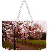 Cherry Blossoms At Kirkland In Kendal Weekender Tote Bag