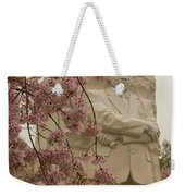 Cherry Blossoms At The Martin Luther King Jr Memorial Weekender Tote Bag