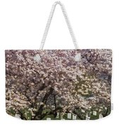 Cherry Blossoms Grace Arlington National Cemetery Weekender Tote Bag