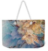 Cherry Blossoms N Lace Weekender Tote Bag