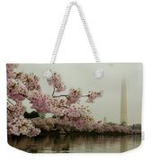 Cherry Blossoms On A Foggy Morning Weekender Tote Bag