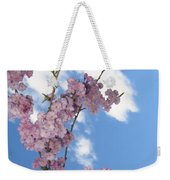 Cherry Floral Fountain Weekender Tote Bag