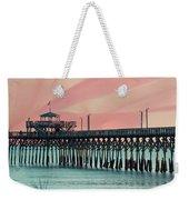 Cherry Grove Fishing Pier Weekender Tote Bag