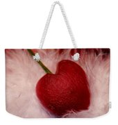 Cherry Heart Weekender Tote Bag