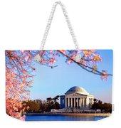Cherry Jefferson Weekender Tote Bag