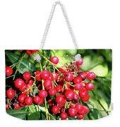 Cherry Laurel  Weekender Tote Bag