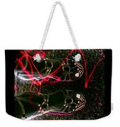 Cherry Neon Shoes Weekender Tote Bag