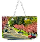 Cherry Sundae Weekender Tote Bag