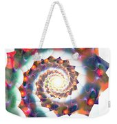 Cherry Swirl Weekender Tote Bag by Anastasiya Malakhova