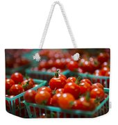 Cherry Tomatoes Weekender Tote Bag by Caitlyn  Grasso