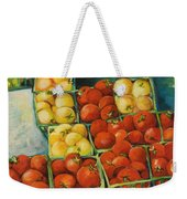 Cherry Tomatoes Weekender Tote Bag by Jen Norton