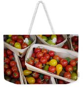 Cherry Tomatos Weekender Tote Bag