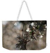 Cherry Tree Blossom Macro Weekender Tote Bag