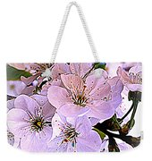 Cherry Tree Blossoms Weekender Tote Bag