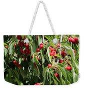 Cherry Tree Weekender Tote Bag