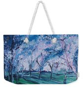 Cherry Trees Impressionism Weekender Tote Bag