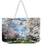 Cherry Trees Weekender Tote Bag