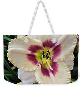 Cherryberry Daylily Weekender Tote Bag