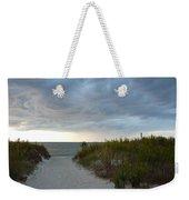 Chesapeake Bay Storm Weekender Tote Bag