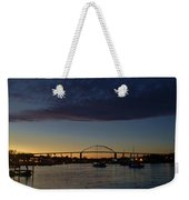Chesapeake City Twilight Weekender Tote Bag