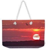 Chesapeake Sunset 1 Weekender Tote Bag