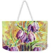 Chess Flowers Weekender Tote Bag