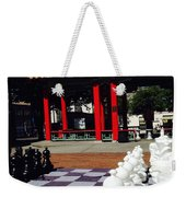 Chess In China Town Weekender Tote Bag