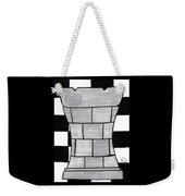 Chess Rook Weekender Tote Bag