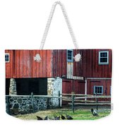 Chester County Chickens Weekender Tote Bag