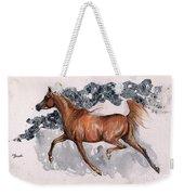 Chestnut Arabian Horse 2014 11 15 Weekender Tote Bag