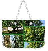 Chestnut Trees At Christchurch Weekender Tote Bag