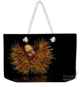 Chestnuts Weekender Tote Bag