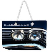 Chevelle Headlight Weekender Tote Bag