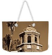 Cheveron Domed Tower 2 Weekender Tote Bag