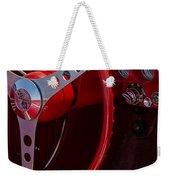 Chevrolet Corvette Red 1962 Weekender Tote Bag