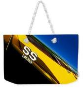 Chevrolet Chevelle Ss 396 Side Emblem Weekender Tote Bag