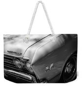 Chevrolet Chevelle Ss Grille Emblems Weekender Tote Bag