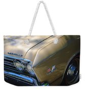 Chevrolet Chevelle Ss Headlight Emblems Weekender Tote Bag