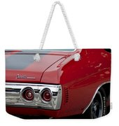 Chevrolet Chevelle Ss Taillight Emblem 3 Weekender Tote Bag