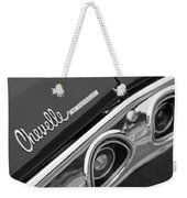 Chevrolet Chevelle Ss Taillight Emblem Weekender Tote Bag