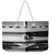 Chevrolet Corvair Emblem -0082bw Weekender Tote Bag