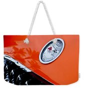 Chevrolet Corvette Hood Emblem Weekender Tote Bag
