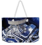 Chevrolet Hotrod Engine Weekender Tote Bag
