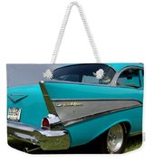 Chevy 1957 Bel Air Weekender Tote Bag